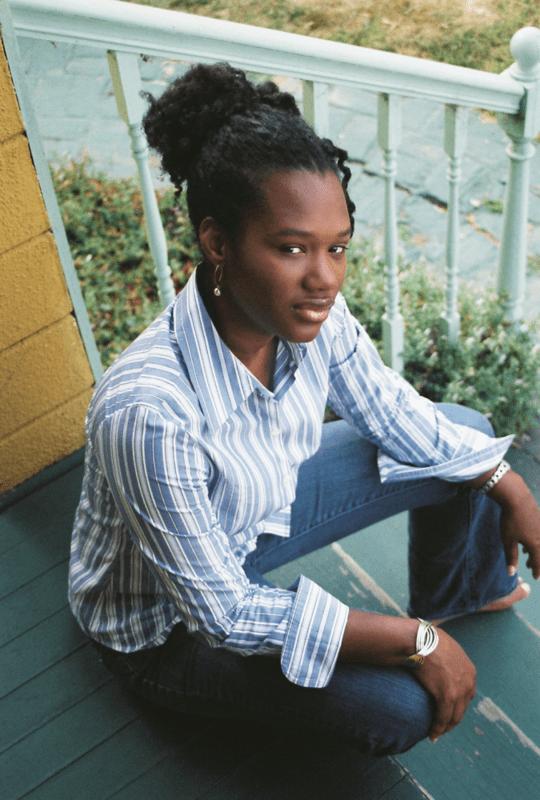 Yavonna Glenn On steps